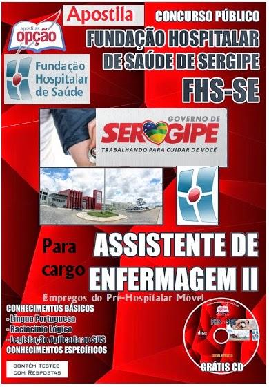 Apostila Concurso FHS SE Assistente de Enfermagem II