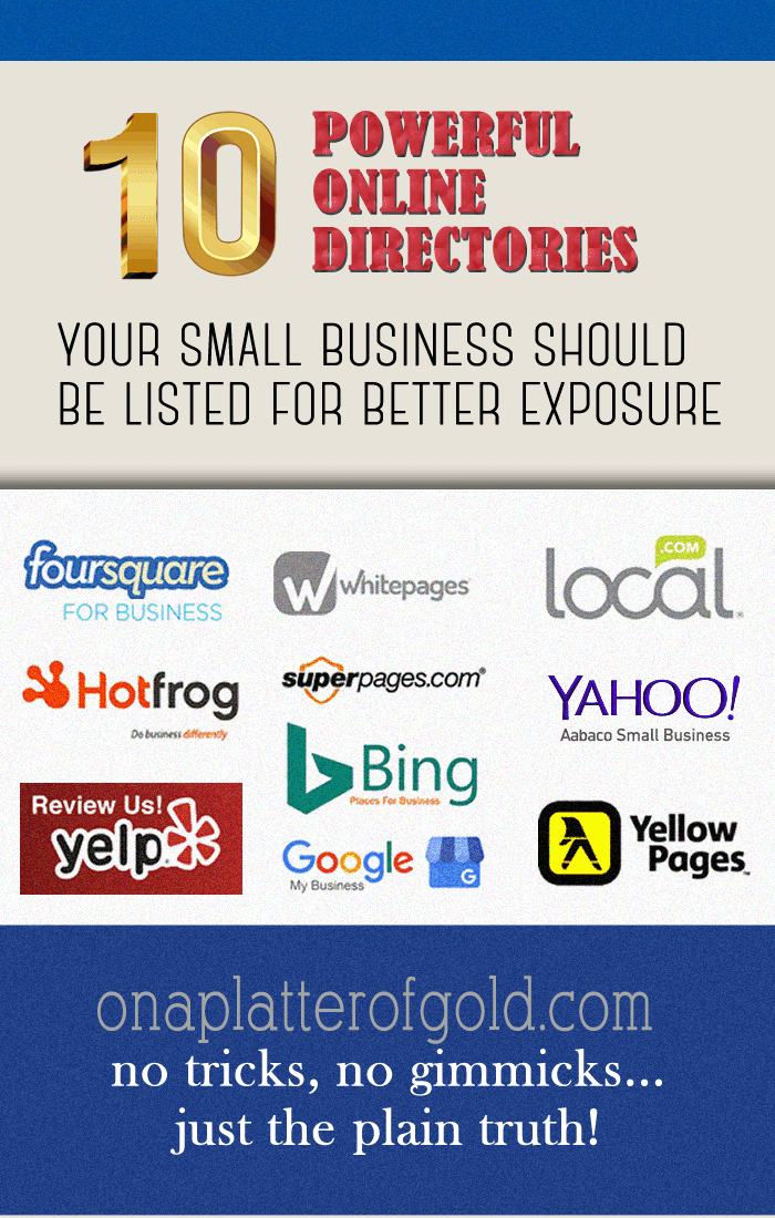 Top 10 Powerful Online Directories Your Small Business Should Be Listed For Better Exposure