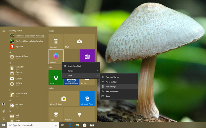 App Settings in Windows 10 will allow you to control the permissions an app has requested