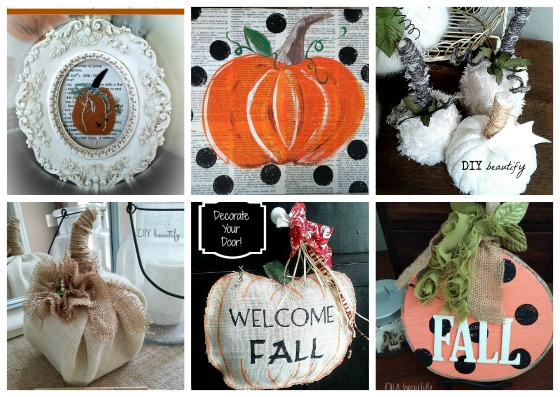 pumpkin inspiration at www.diybeautify.com