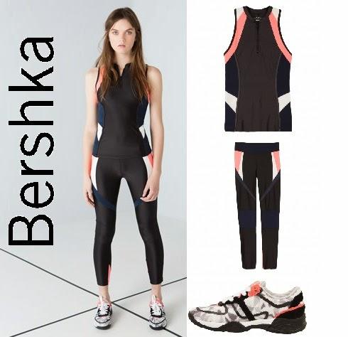 0a1816386e64 Bershka Φθινόπωρο Χειμώνας 2014-2015. Η νέα κολεξιόν Αθλητικών ρούχων 'Start  Moving' .