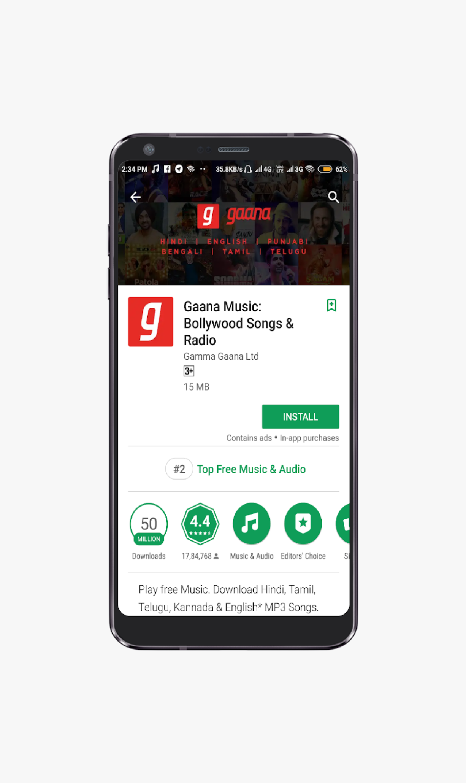 5 Best Android Apps for Hindi Songs - Toxic Tech
