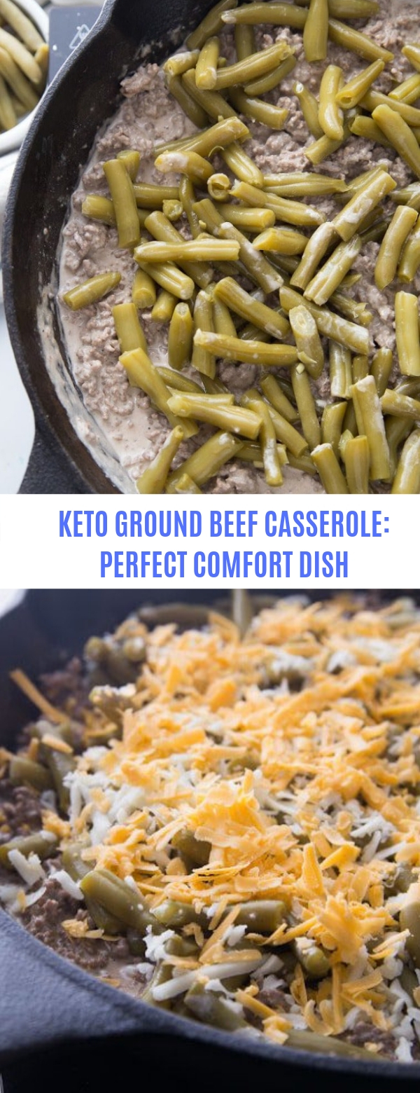 Keto Ground Beef Casserole