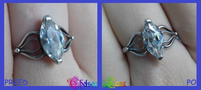 Jak wyczyścić pierścionek z cyrkonią?