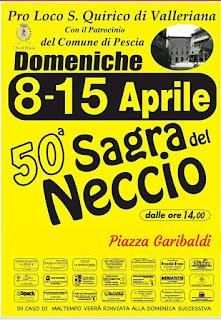 Sagra del Neccio - Festival of the Chestnut pancake San Quirico Valleriana Tuscany