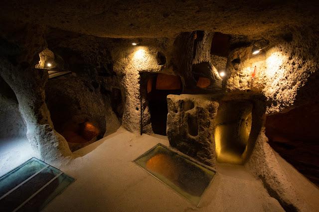 La città sotterranea di Kaymakli-Cappadocia