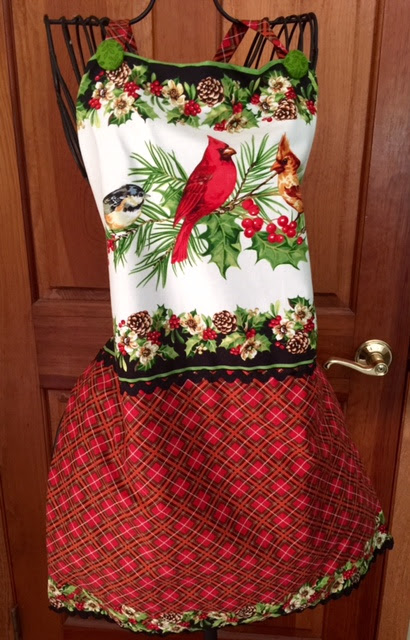 Home for the Holidays Apron from Henry Glass