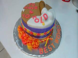 bridal shower naughty cake