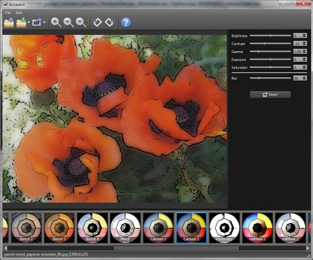 تحميل برنامج XnSketch لإضافة مؤثرات رائعة للصور للويندوز والماك والينكس
