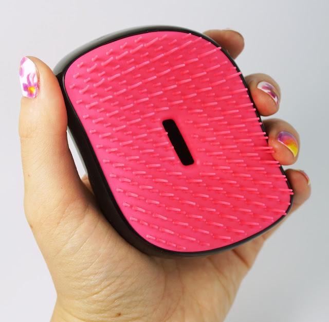 Tangle Teezer - Compact Styler (Pink Sizzle) - Perfekte Haarbürste für unterwegs!