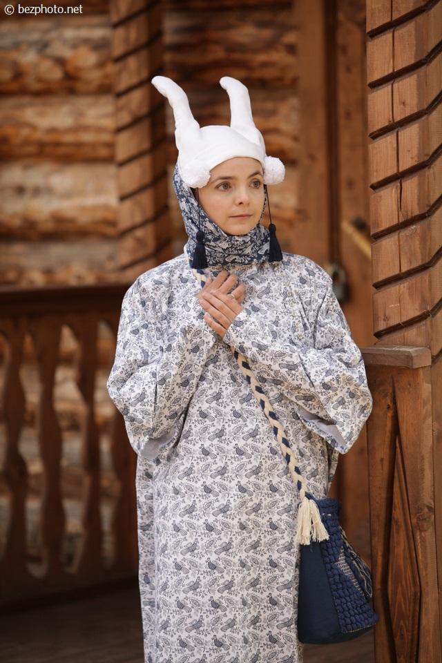 народный костюм рязанской губернии фото