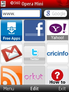 Opera Mini at a glance (all version)