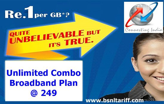BSNL Unlimited Experience Broadband plan 249 extended upto 31st december