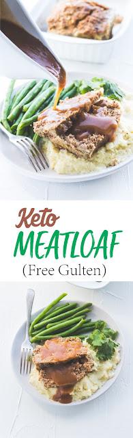 Easy Keto Meatloaf (Free Gulten)