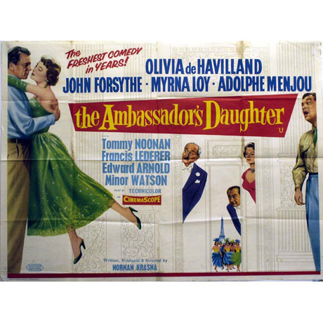The Ambassador's Daughter movieloversreviews.filminspector.com film poster