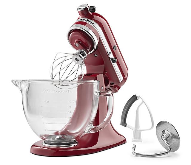 Amazon: KitchenAid KSM105GBCER 5-Qt. Tilt-Head Stand Mixer only $175 (reg $360) + free shipping!