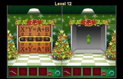 100 Floors Christmas Level 12 Explanation