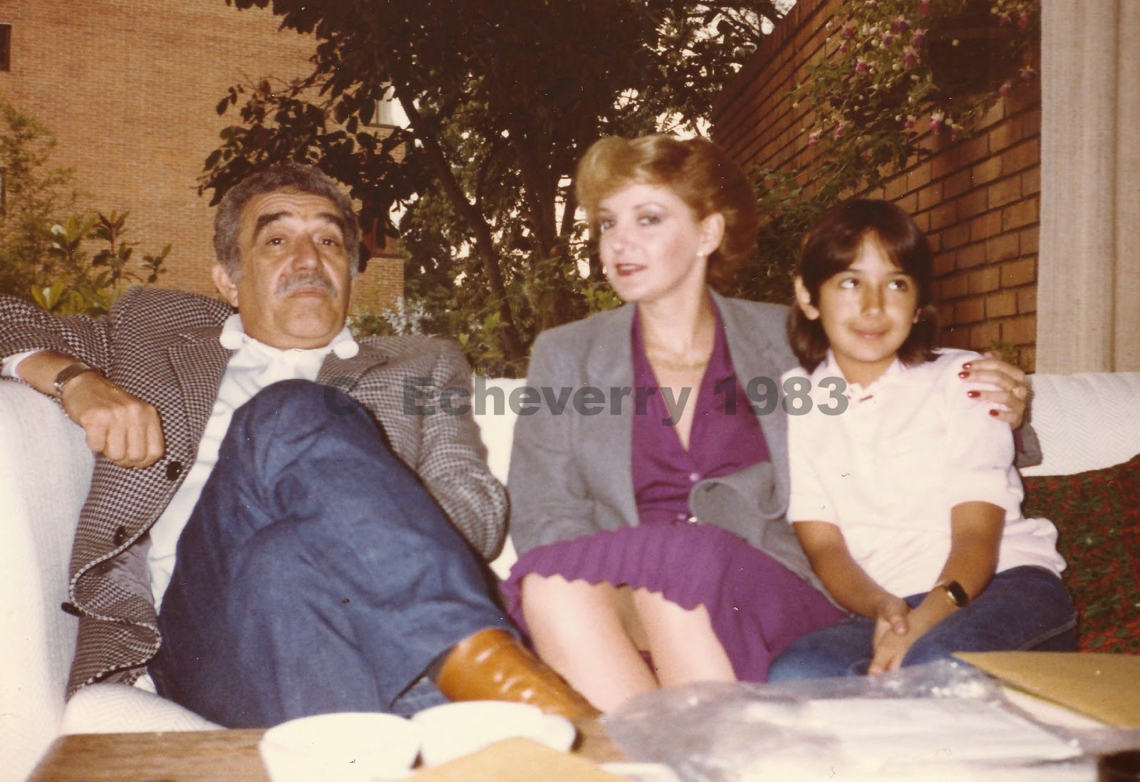 Foto con Gabo
