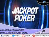 Dapatkan Jackpot situs agen judi poker online hanya di artikel pusat judi cara mendapatkan jackpot situs agen judi poker online.