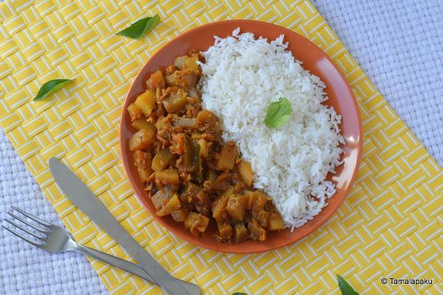 Doodhi Batata Sabji