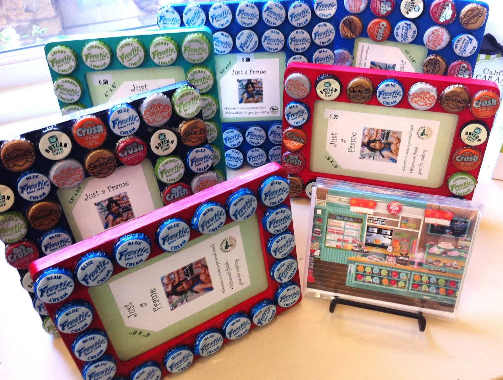 How To Make Bottle Cap Picture Frame Picture Frame Ideas