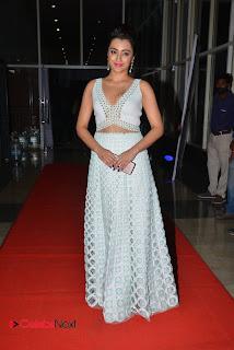Actress Trisha  Stills in White Dress at Nayaki Audio Launch  0070