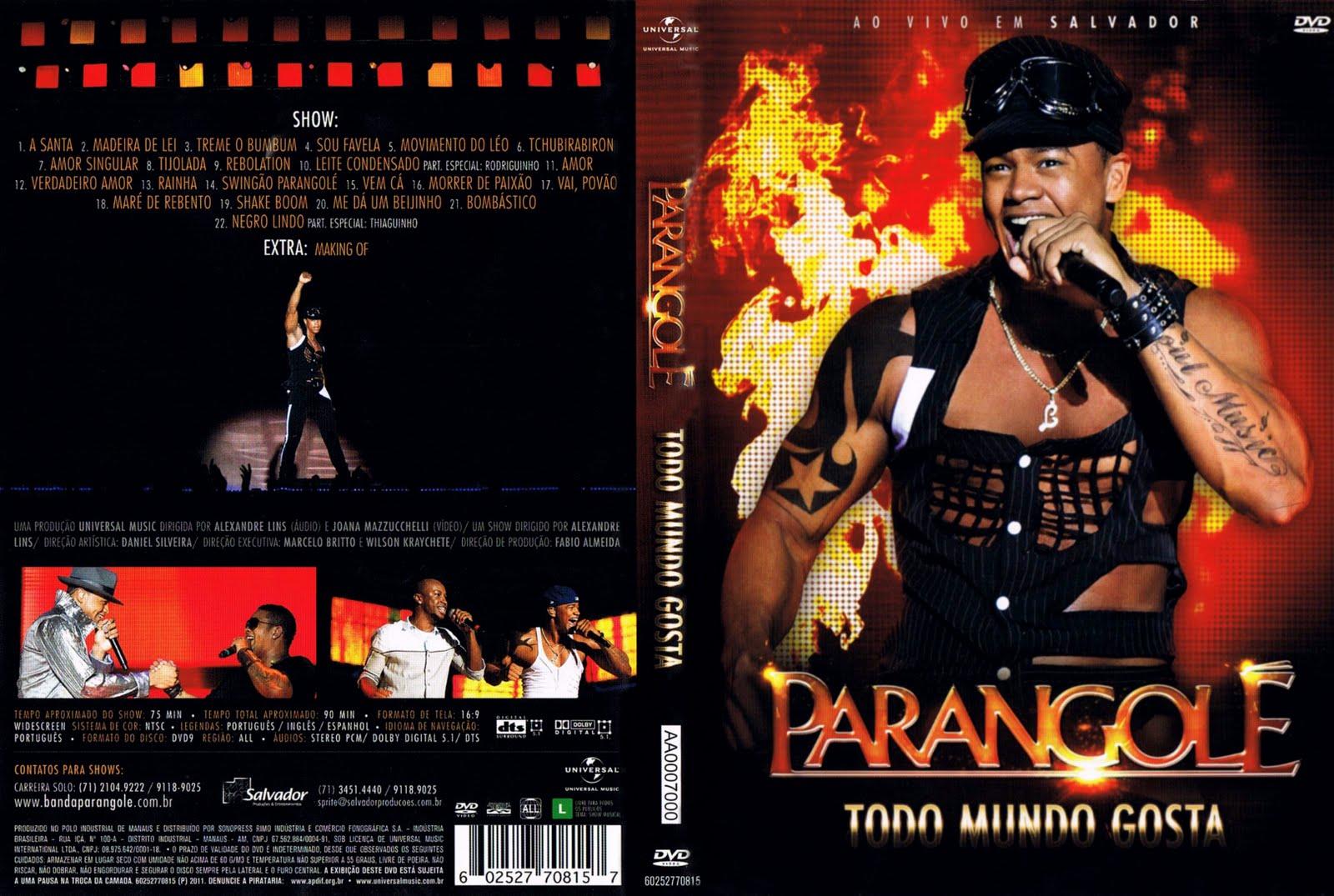 PARANGOLE DE BAIXAR 2008 DVD