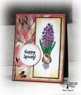Diana Nguyen, Our Daily Bread Designs, Easter Greetings, Beautiful Blooms, hyacinth