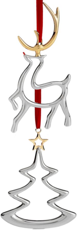 Nambé Silver Ornaments