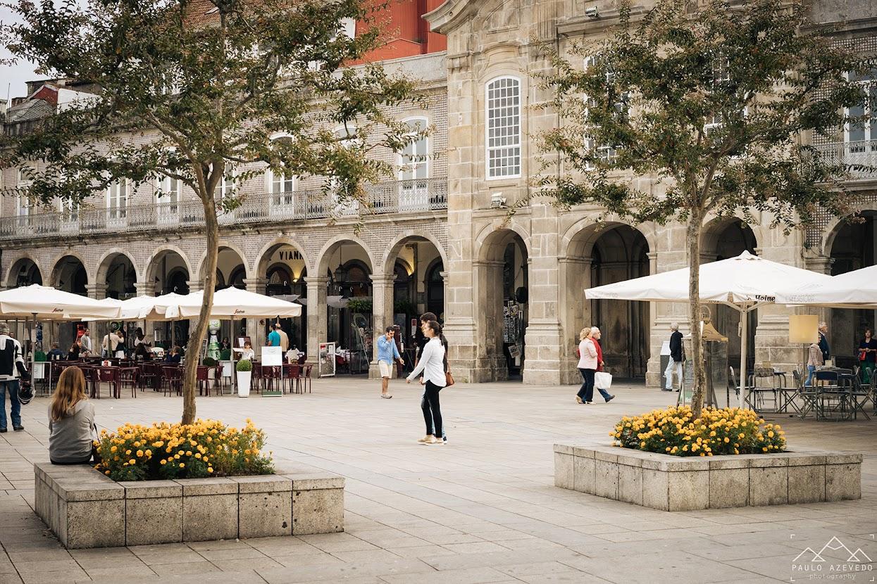 Arcadas e Avenida Central, Braga