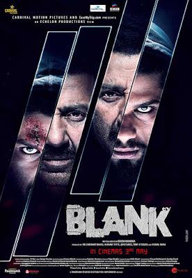 Blank (2019) Hindi HQ DVDScr 700MB