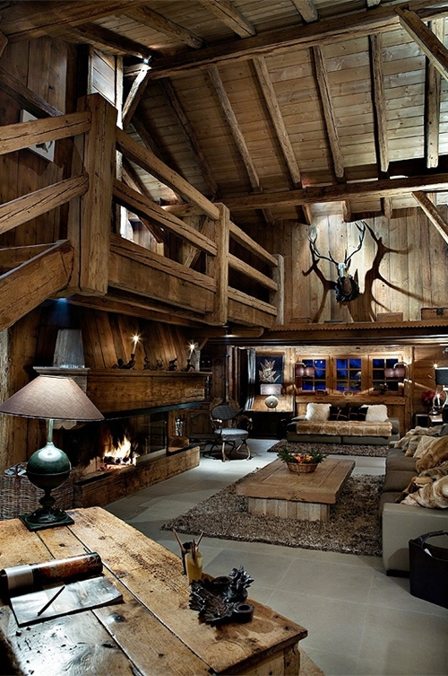 30 rustic chalet interior design ideas on world of architecture 11