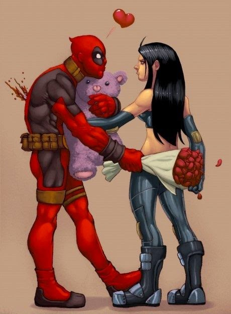 Funny Deadpool Being Stabbed