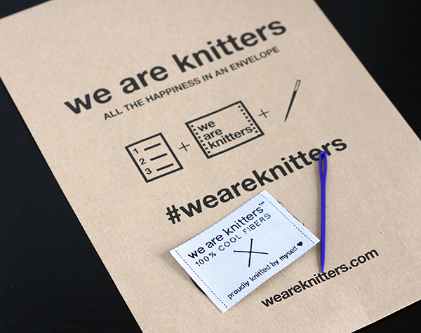 We Are Knitters Knitting Kit