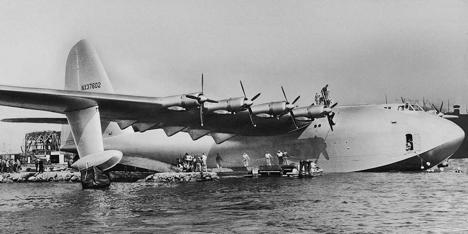 H-4 Hercules – самолет с самым большим размахом крыла в истории