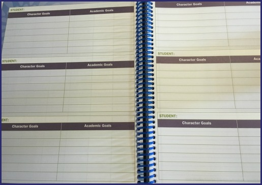 Homeschool planner for goals