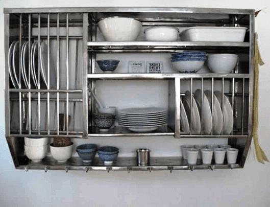 Model rak piring rumah minimalis
