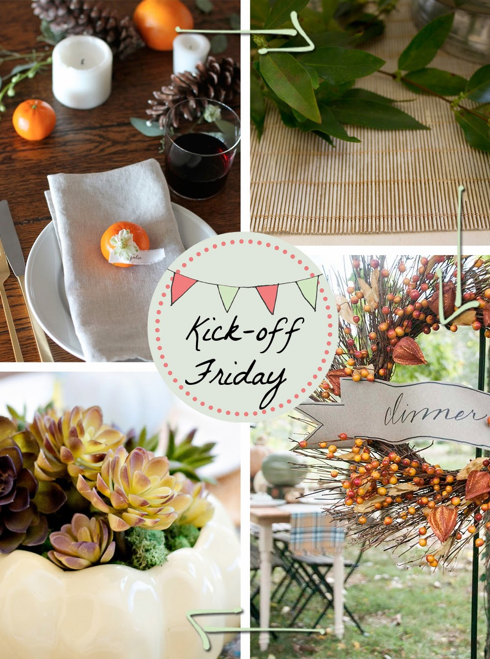 4 Beautiful, Classic Ideas for a Thanksgiving Table
