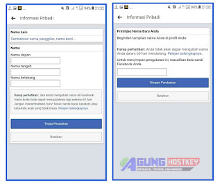 cara Membuat Nama FB Kosong Tanpa Nama terbaru 2021, 2022 , font blank, nama fb kosong