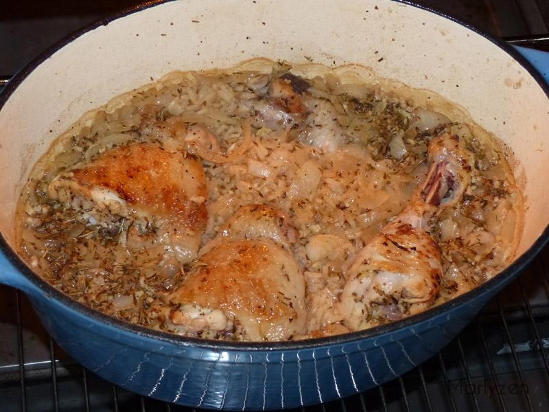 Retirez le couvercle et poursuivez la cuisson.
