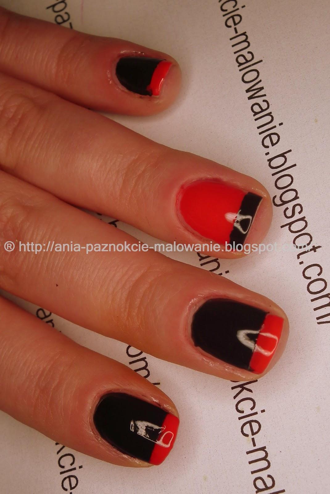 Wzorek paznokciach czarny na Jak zrobić