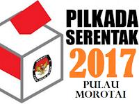 Hasil Pengundian Nomor Urut Paslon Bupati dan Wakil Bupati Morotai