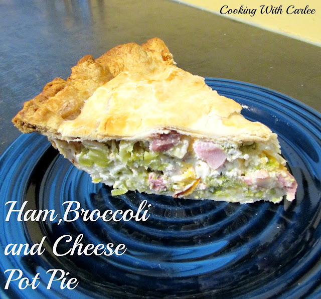 Cooking with Carlee: Ham, Broccoli and Cheese Pot Pie
