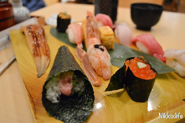 【日本。東京】平價抵食超人氣梅丘寿司の美登利 9