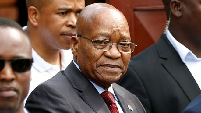 Former SA President Zuma faces corruption charges