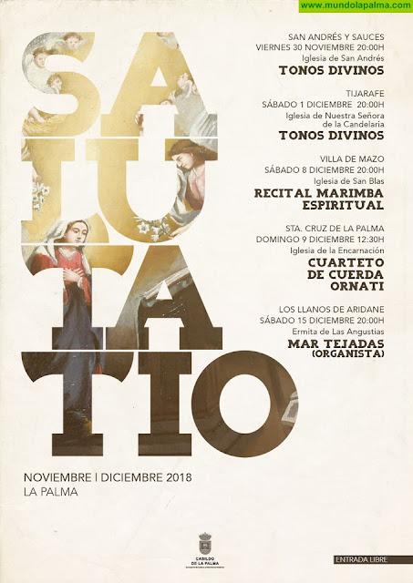El Cabildo presenta la segunda edición de 'Salutatio', el ciclo que lleva la música religiosa clásica a las iglesias de la isla