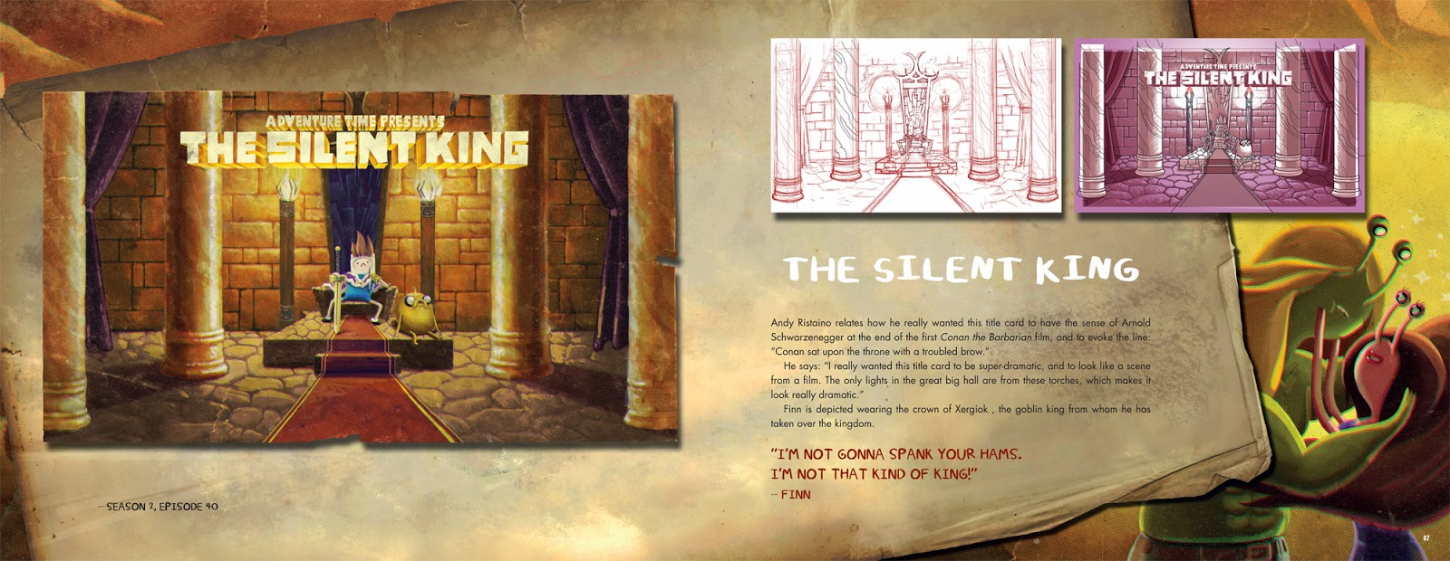 Adventure Time - The Original Cartoon Title Cards Silent King