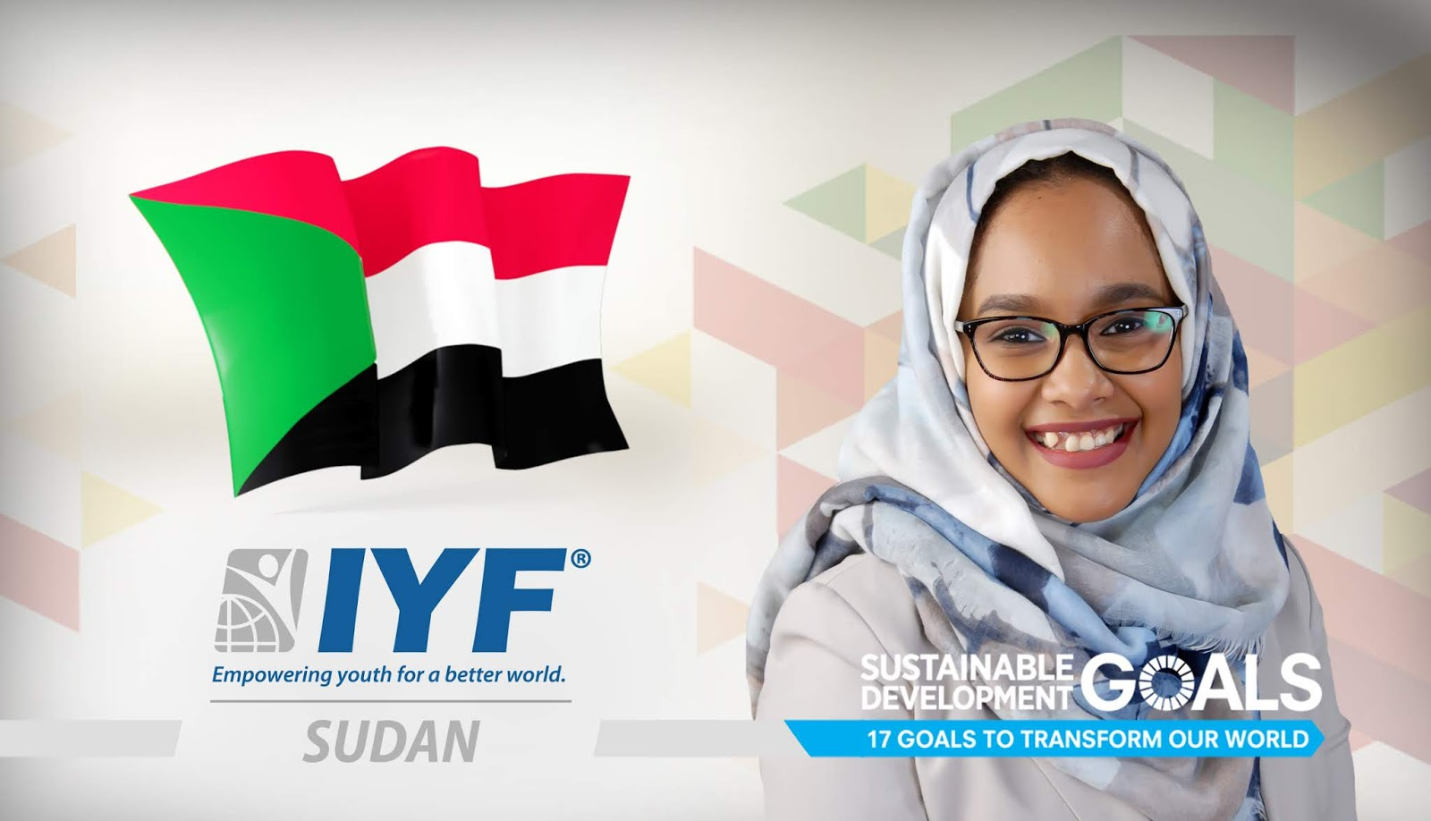 Rowan Saeed, IYF Representative in Sudan