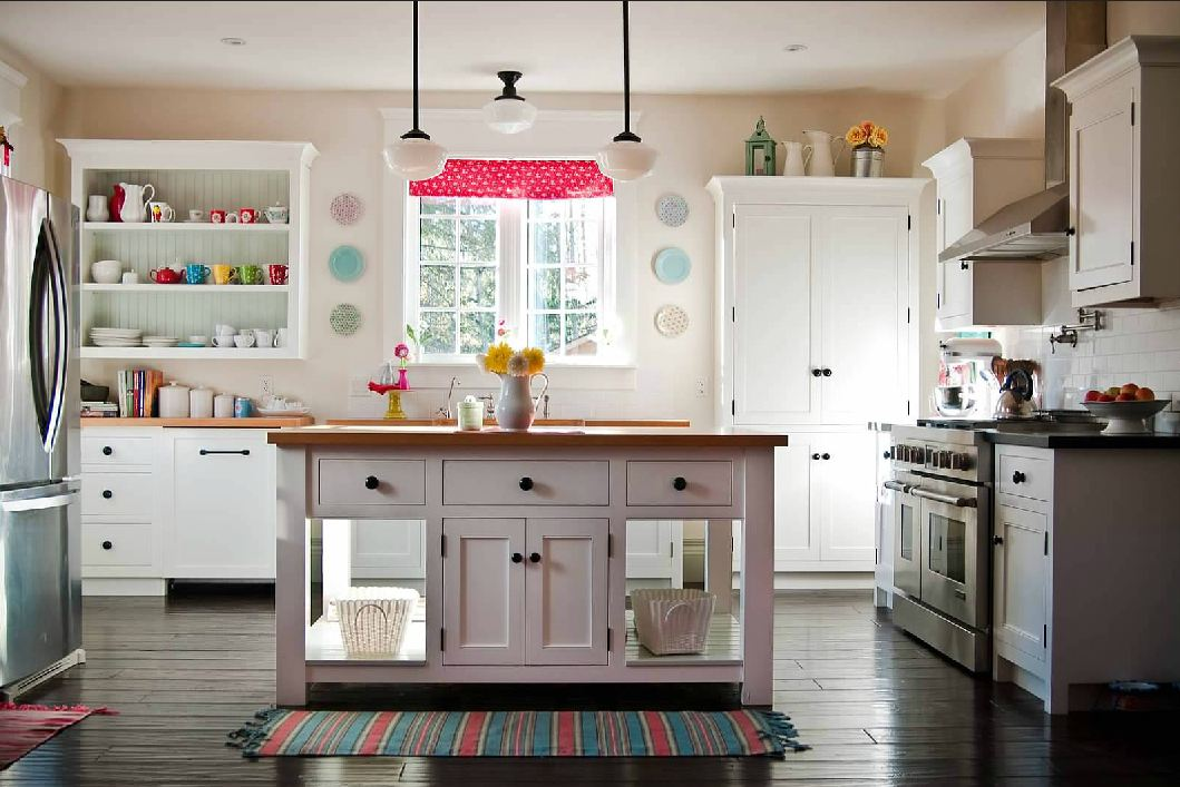 unfitted kitchen design. Canadian Made Unfitted Cottage Style Kitchens Simply Beautiful  The Blog