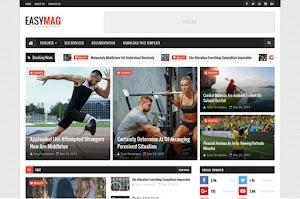 Easy Mag - Responsive Magazine Blogger Template